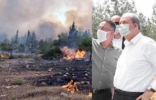 """Tatar: """"Yangında müdahale kabiliyetimizi arttıracak..."""