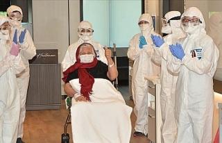 Türkiye'de iyileşen hasta sayısı 83 bine...