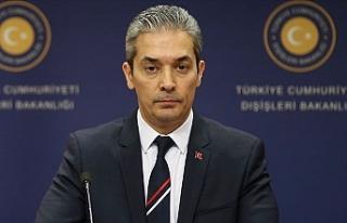 """Türkiye Dışişleri: """"Kısır bir söylemin..."""