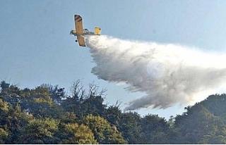 """Yangına müdahele eden Rum pilot: """"Mükemmel..."""