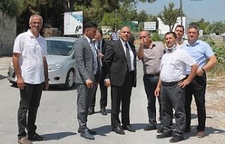 Atakan, Girne Batı Çevre Yolunda inceleme yaptı