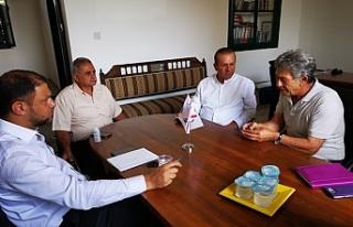 Ataoğlu, Rehberler Birliğini ziyaret etti