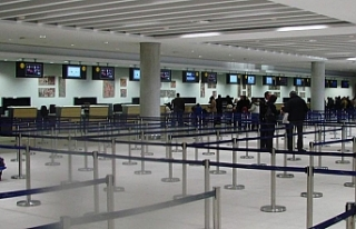 Baf Havalimanı yeniden açıldı