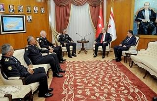 Başbakan Tatar, Manavoğlu ve Soyalan'ı kabul...