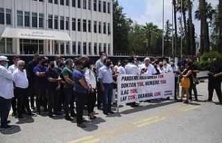 Başbakanlık önünde eylem