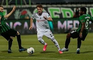 Beşiktaş deplasmanda farklı kazandı
