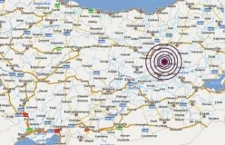 Bingöl Karlıova'da 5.7 büyüklüğünde deprem...