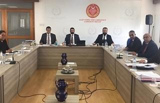 Borç İlişkileri, Ad Hoc Komitesi toplandı
