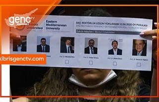 DAÜ Rektörlük seçimi ikinci tura kaldı