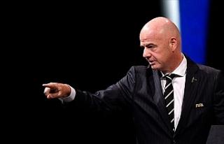 FIFA Başkanı Infantino, futbolda 'daha katı'...