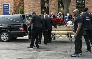 George Floyd için ilk cenaze töreni Minneapolis'te...