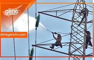 Girne'de bazı bölgelere bugün 5 buçuk saat elektrik...