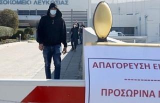 Güney Kıbrıs'ta korona virüs sebebiyle bir kişi...