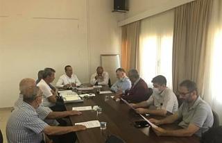 Lefke'de maden konusunda toplantı