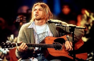 Nirvana'nın solisti Kurt Cobain'in gitarı...