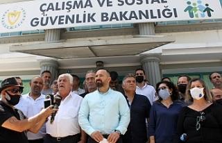 Sendikal Platform Hükümeti istifaya çağırdı,...