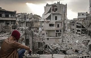 Suriye'de yüz binler hayatlarından umudu kestikleri...