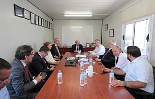Tatar, Gazimağusa Limanı'nda incemele yaptı