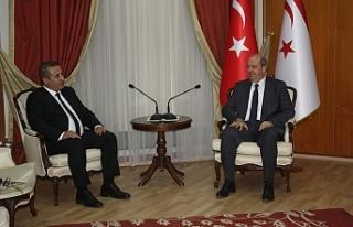 Tatar, yeni Başsavcı'yı kabul etti