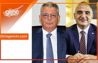 Türkiye Turizm Bakanı Ersoy, Evren'e başarılar...