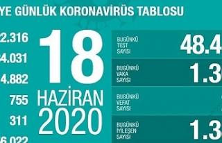 Türkiye'de koronavirüsü atlatan kişi sayısı...
