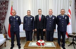 Uluçay, Manavoğlu ve Soyalan'ı kabul etti