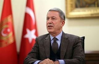 """Akar: """"Türkiye ve KKTC'nin Doğu Akdeniz'deki..."""