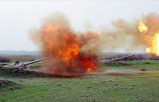 Azerbaycan-Ermenistan sınırında çıkan çatışmalarda...