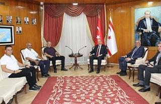 Başbakan Tatar, Gürcafer ve beraberindeki heyeti...