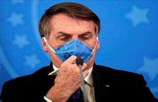 Brezilya Devlet Başkanı Bolsonaro yüksek ateş...