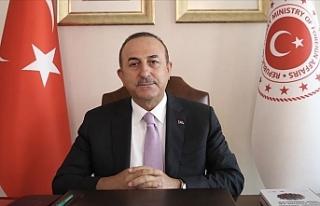 """Çavuşoğlu: """"Hafter çekilmediği sürece Libya..."""
