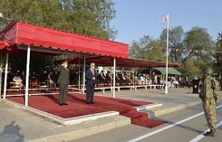 Cumhurbaşkanı Akıncı 1. Piyade Alay Komutanlığı...
