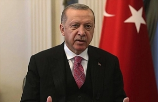 """Erdoğan: """"Ada'da hakça ve kalıcı bir çözüme..."""