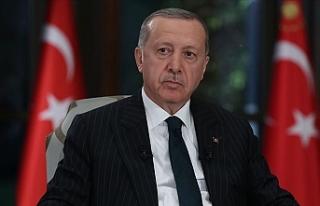 """Erdoğan: """"Adil bir paylaşımı esas alan her türlü..."""