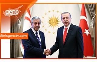 Erdoğan - Akıncı arasında bayram kutlama mesajı...