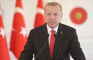 """Erdoğan: """"Doğu Akdeniz'de kurulmaya çalışılan..."""