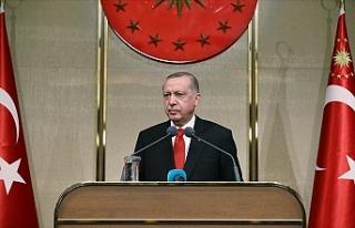 """Erdoğan: """"Kıbrıslı Türklerin haklarını..."""