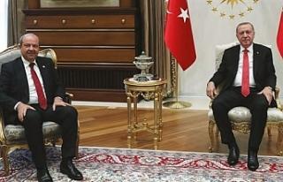 Erdoğan, Tatar ile görüştü.. Ayasofya'nın...