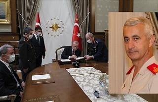 Eski GKK Komutanı Tevfik Algan, Tümgenaralliğe...