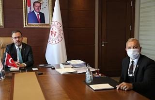 GAÜ'den Ankara'da temaslar