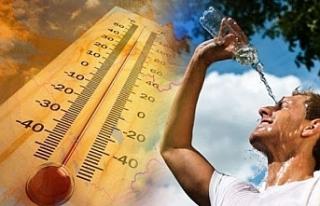 Hafta boyunca sıcaklık 40 derece