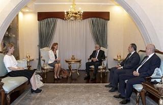 Hollanda Büyükelçisi'nden veda ziyaretleri