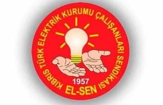 Kıbrıs Türk Elektrik Kurumu Çalışanları Sendikası'nın...