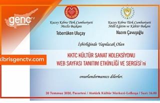 KKTC Kültür Sanat Koleksiyonu web sayfası oluşturulması...
