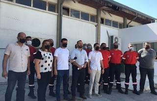 KTAMS'dan Ercan'da basın açıklaması