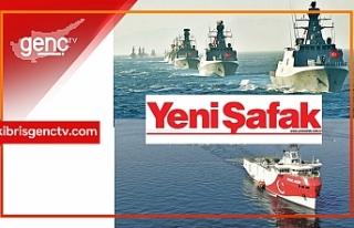 Oruç Reis'i 15 savaş gemisi koruyor