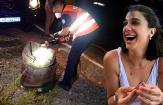 Pınar'ın cansız bedeni beton dökülmüş...