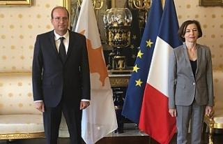 Rumlardan Fransa ile denizde ve havada işbirliği