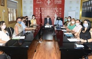 Sağlık Teknik Komitesi'nden Pilli'ye ziyaret