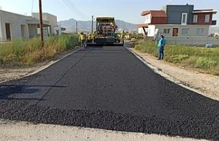 Su, elektrik ve yol altyapılarının tamamlanması...